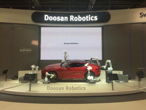 Doosan Robotics – Automatica Mnichov – (2018)
